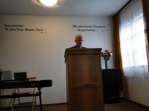 pastor zboru w lesznie - henryk mrz