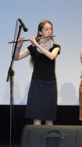 patrycja z leszna grajca na flecie
